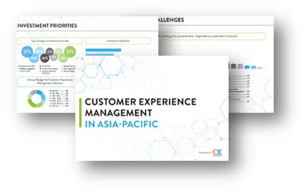 Customer Experience Management APAC Report 2020