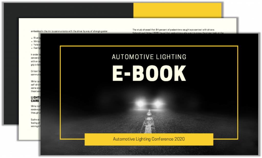 E-Book on Automotive Lighting and Self-Driving Cars Safety