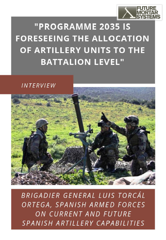 Programme 2035 and the future artillery capabilities of the Spanish Army