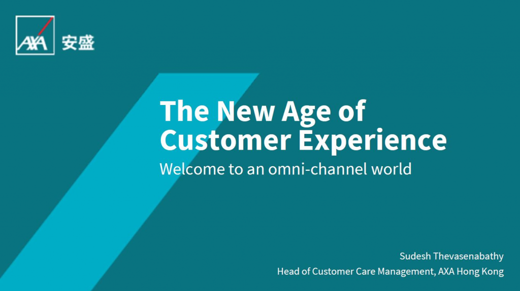 Download The New Age of Welcome to an omni-channel world Customer Experience