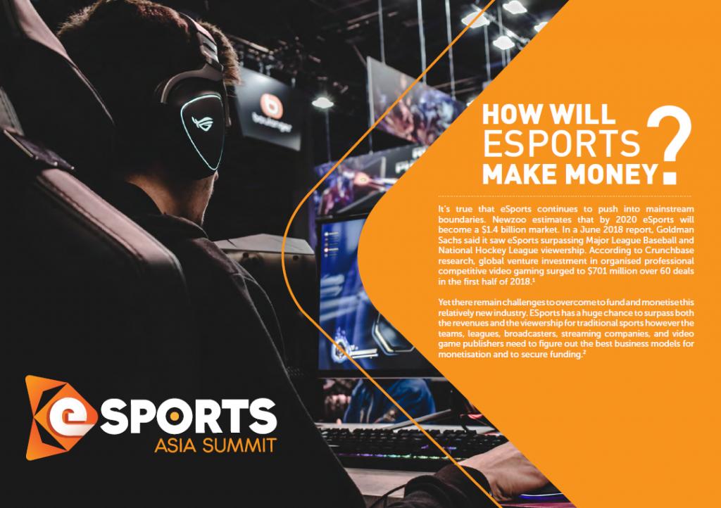 How Will eSports make Money