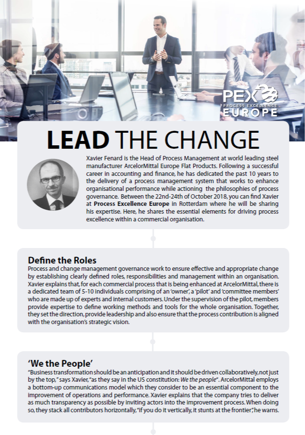 PEX Europe 2018 - spex - Lead the Change