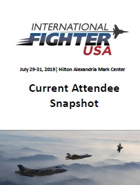 International Fighter USA Current Attendee Snapshot