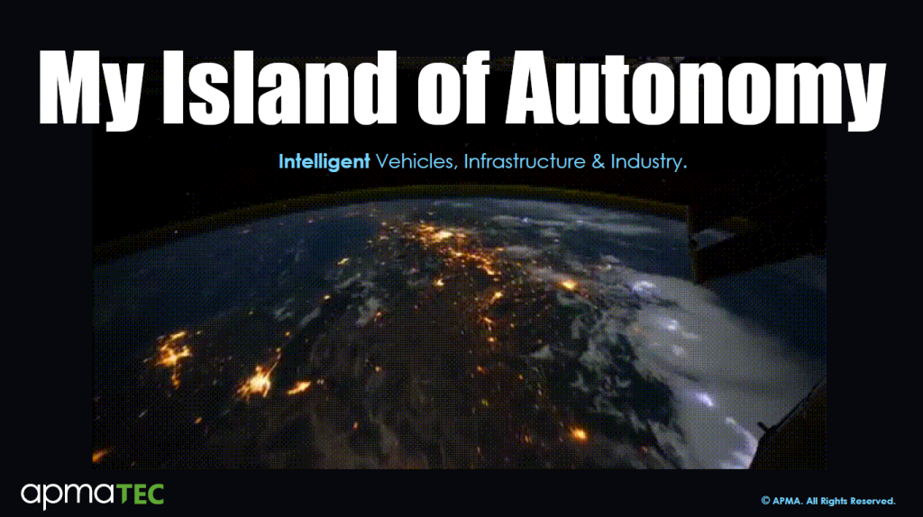 Read the Past Presentation - My Island of Autonomy - Intelligent Vehicles, Infrastructure & Industry