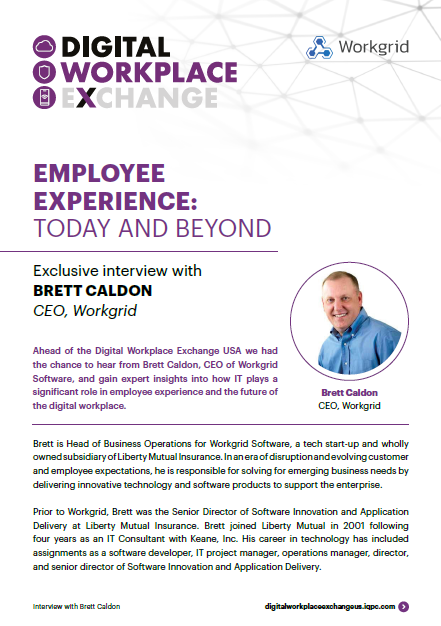 Employee Experience: Today and Beyond