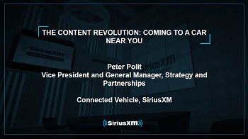 SiriusXM: The Content Revolution Coming to a Car Near You