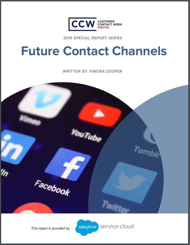 Special Report: Future Contact Channels