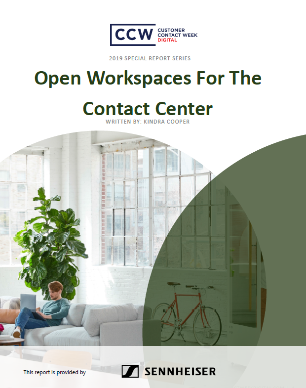 Open Workspaces for the Contact Center