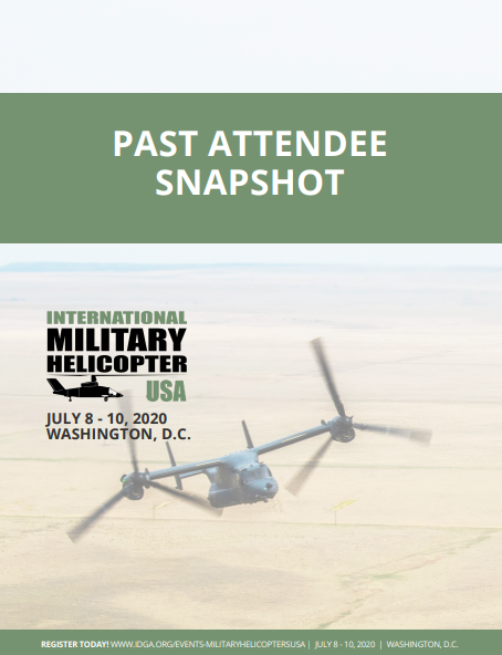 International Military Helicopter USA Past Attendee Snapshot