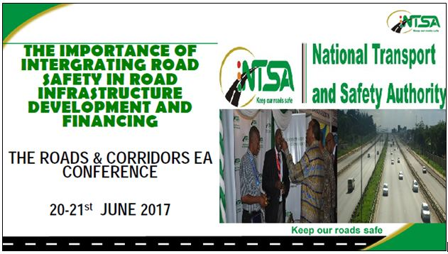 The importance of integrating road safety in road infrastructure development and financing by Samuel Musumba