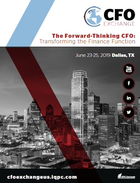 2019 CFO Exchange Sponsorship Brochure