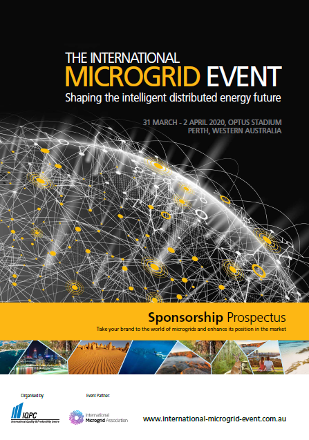 International Microgrid 2020 Sponsorship & Exhibition Prospectus