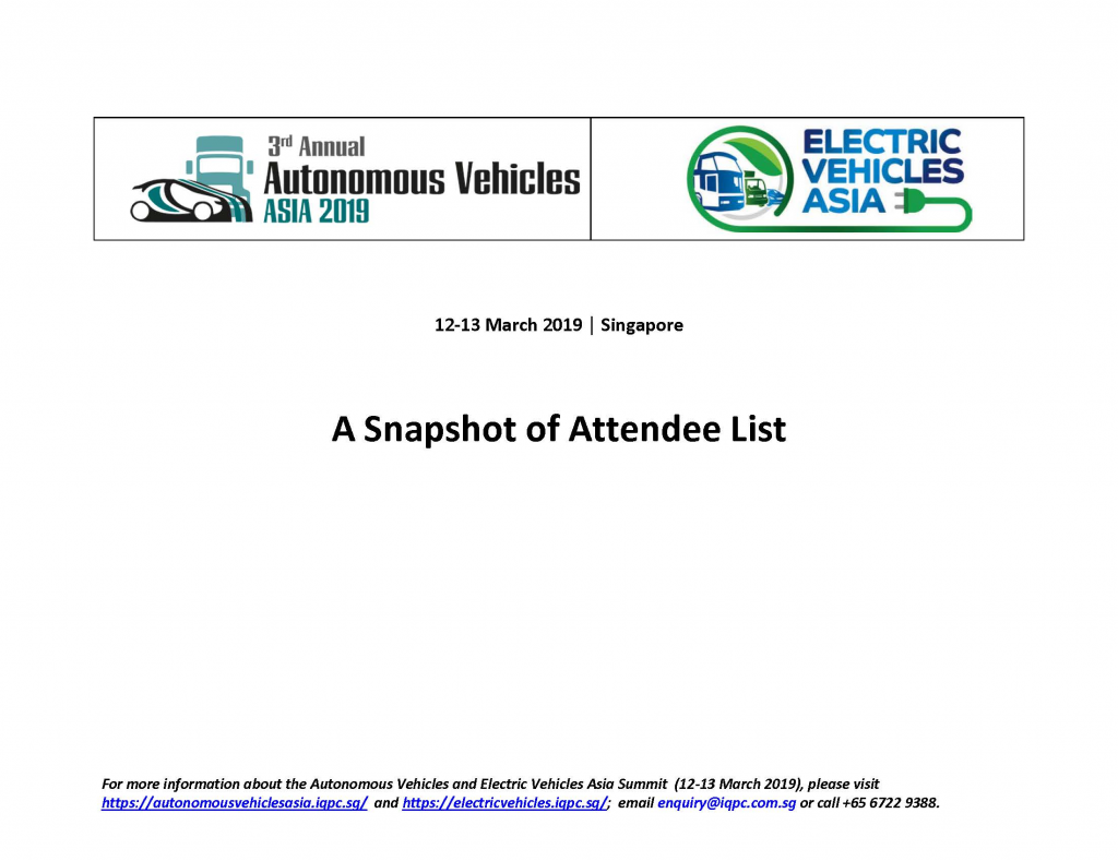 Download the 2019 AV & EV attendee list