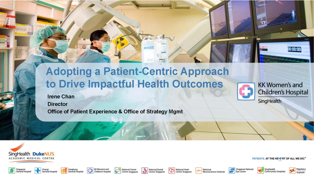 Past Presentation 2018 - Adopting a Patient-Centric Approach to Drive Impactful Health Outcomes
