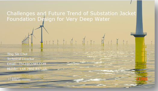 COWI on challenges and future trends of substation jacket foundation design for very deep water
