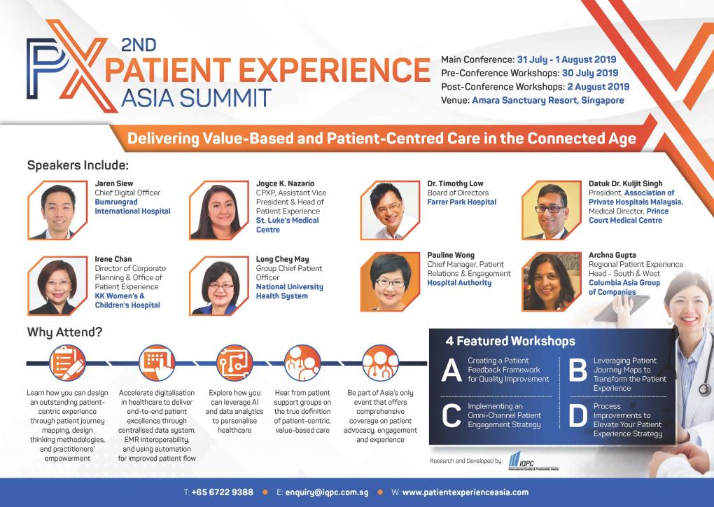 PX Asia 2019 Agenda - Spex