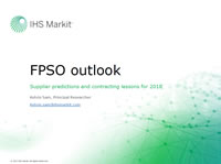 FPSO Outlook: Supplier predictions and contracting lessons for 2018