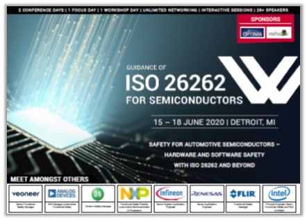 Guidance of ISO 26262 for Semiconductors - Conference Agenda