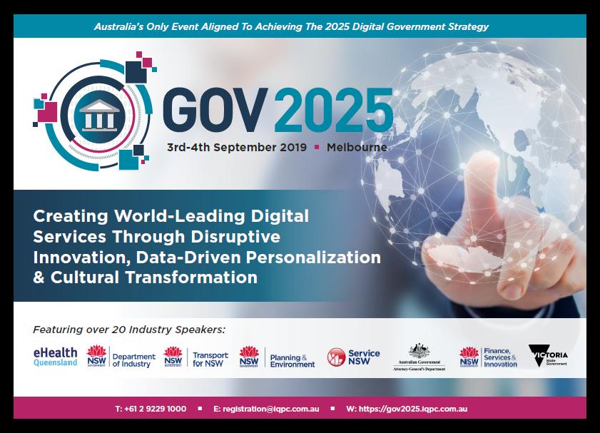 Agenda - Gov 2025 Summit