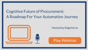 Cognitive Future of Procurement: A Roadmap For Your Automation Journey