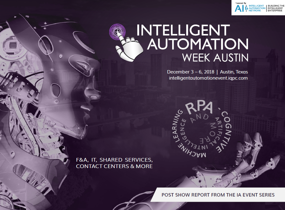 Intelligent Automation For HR - Post Show Report