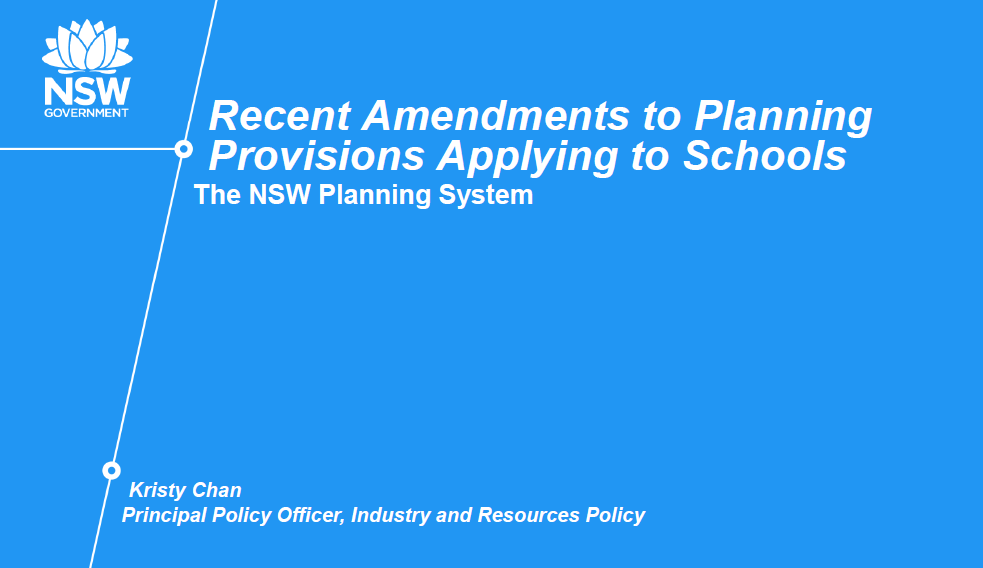 Understanding the New Regulations in the School Environment and Planning Authority and how to Fasttrack the Approval Process
