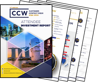 Customer Contact Week Asia - Attendee Investment Report