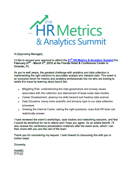 Justify Your Trip to HR Metrics and Analytics