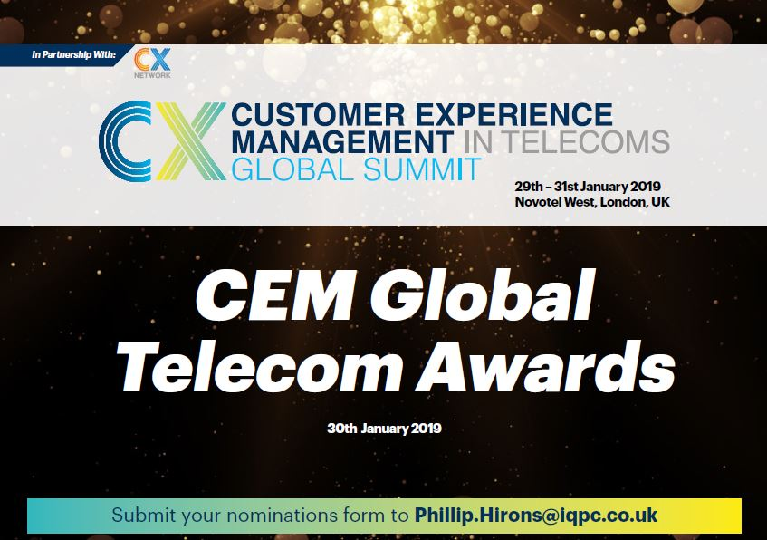 Customer Experience in Telecoms - Award Pack