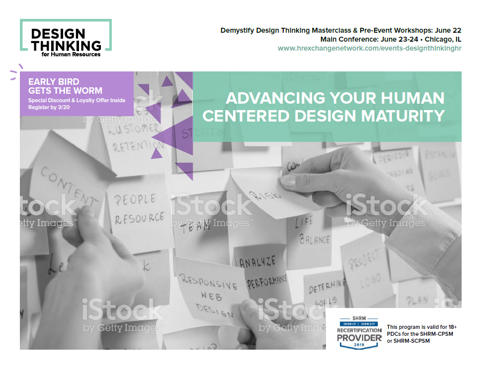 Design Thinking for HR Agenda