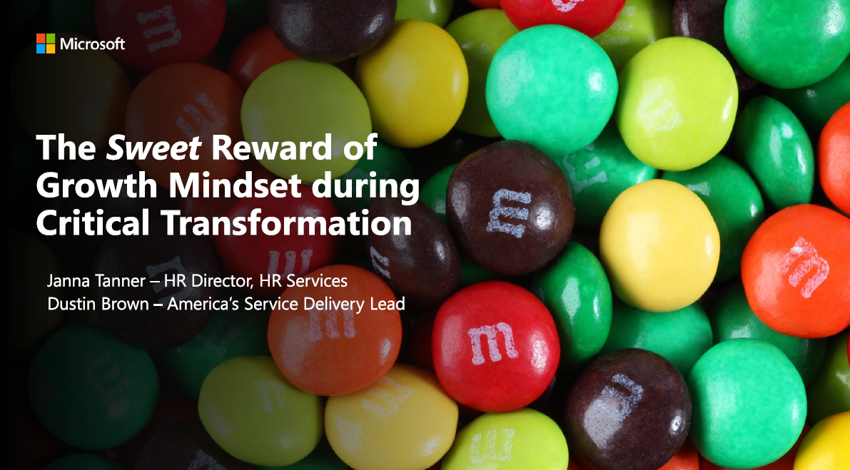 Recruiting Shared Services—Learnings from Microsoft's Journey of Transformation & Candidate Experience
