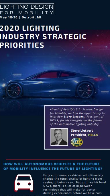 Interview: HELLA 2020 Strategic Priorities