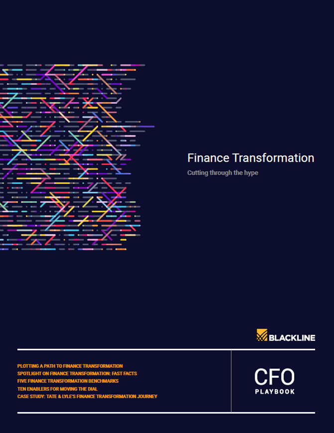 Finance Transformation: Cutting Through the Hype | A Blackline Report