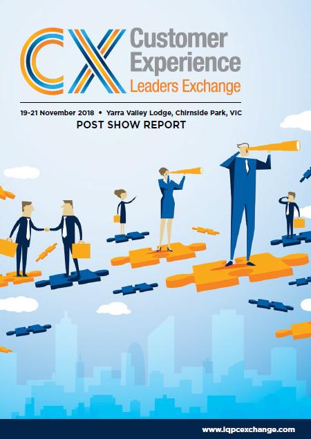 CX Leaders Exchange 2018 Post Event Report