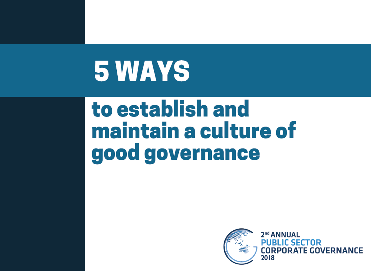 5 ways to establish and maintain a culture of good governance