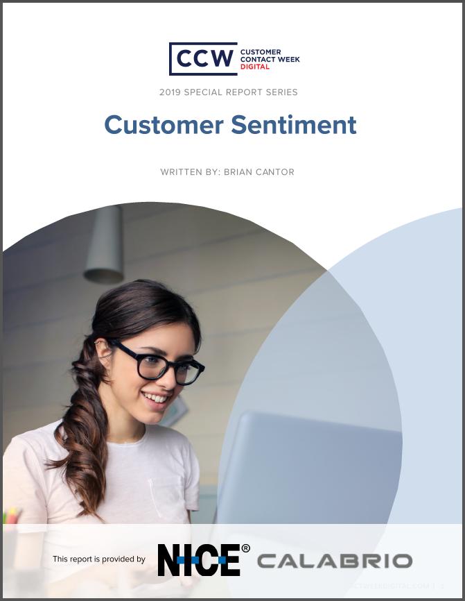 Special Report: Customer Sentiment