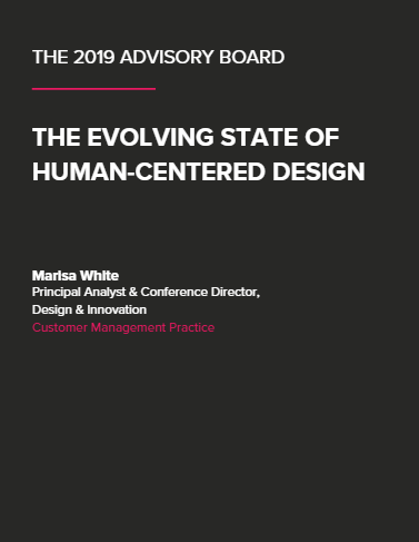 The 2019 Advisory Board: The Evolving State of Human-Centered Design (Link Only)