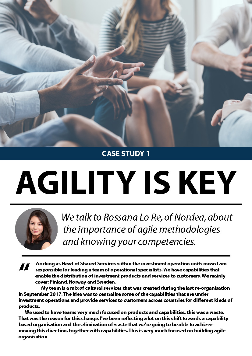 Case Study 1: Agility is Key