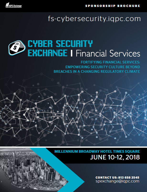 2018 Cyber Security for Financial Services Sponsorship Prospectus