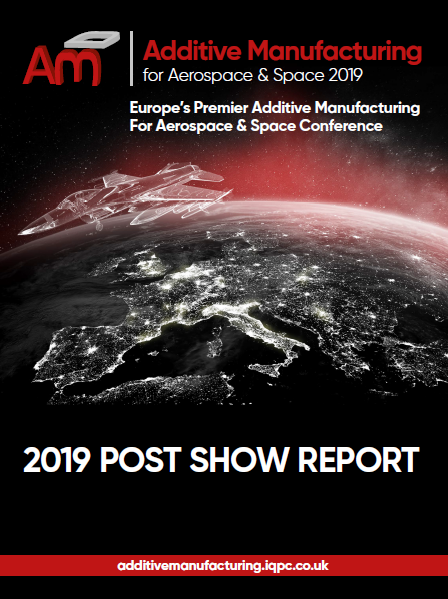 Post Show Report - Additive Manufacturing for Aerospace and Space