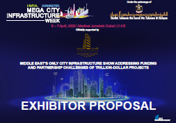 Mega City Infrastructure Week: Exhibitor Proposal