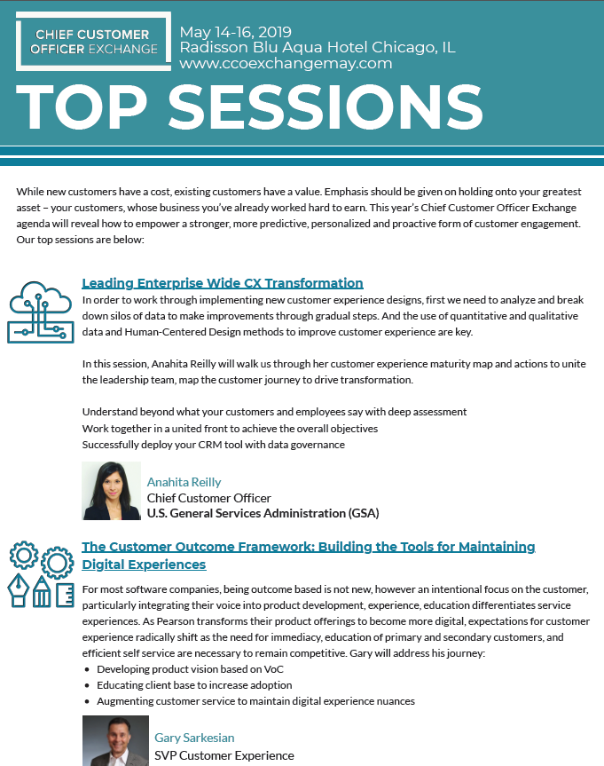 Top Sessions Infographic