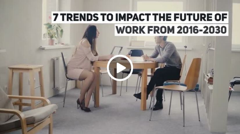 7 Trends to Impact the Future of Work