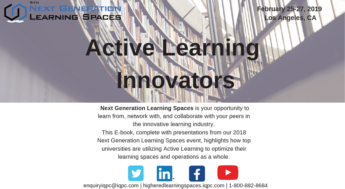 Active Learning Innovators at Top Universities