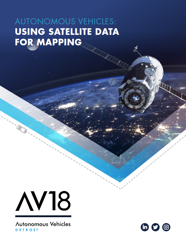 Autonomous Vehicles: Using Satellite Data for Mapping