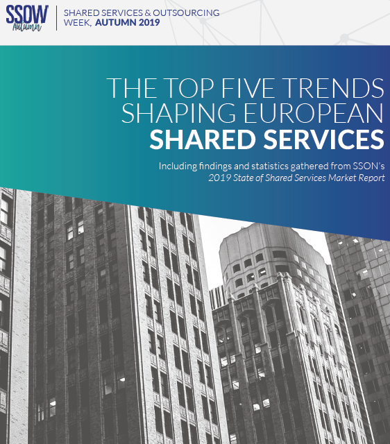 SSOW Autumn - Spex - Top 5 Trends Shaping European Shared Services 19