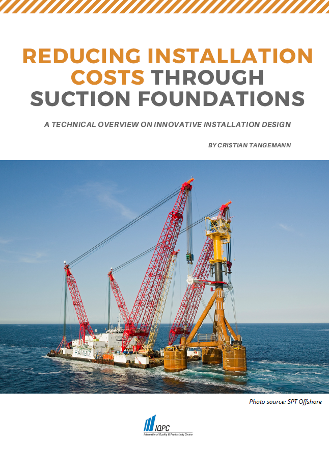 Report on the Reducing Installation Costs Through Suction Foundations