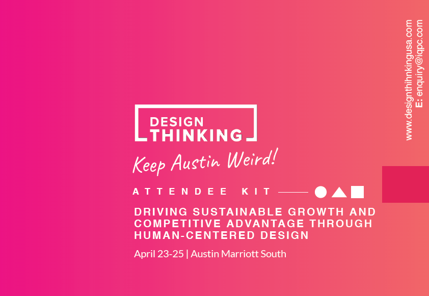 2018 Design Thinking Attendee Kit