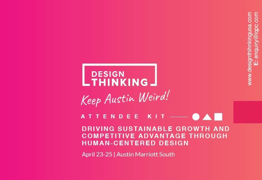 2018 Design Thinking Attendee Kit