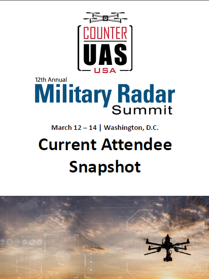 Military Radar & Counter UAS Confirmed Attendee List